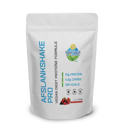 Afslankshake Pro (500 gram Vegan)