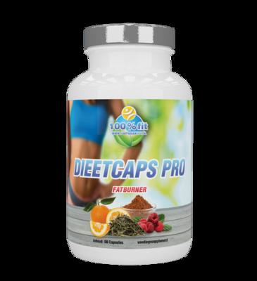Dieetcaps Pro 'fatburner' (60 capsules)