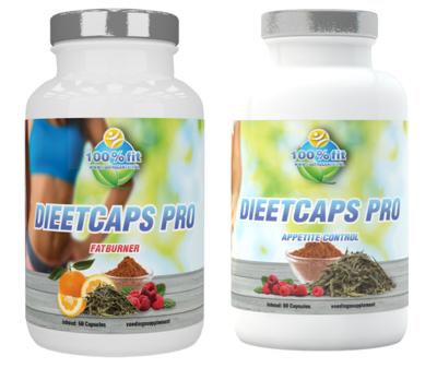Dieetcaps Pro energy & control afslankpakket